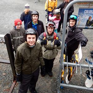 The Snowboarding Class