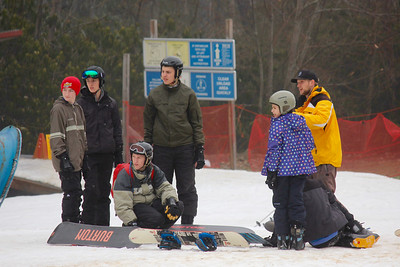 The Intrepid Snowboarders