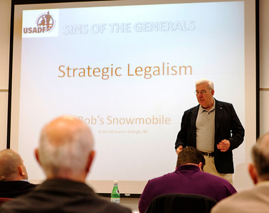 "Bob Weimann presents ""Strategic Legalism -- Indicator of Bad Strategy According to Boyd"""