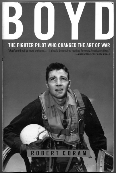 Cover of the Boyd biography by Robert Coram