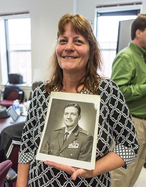 Mary Ellen Boyd and her father, Col. John Boyd