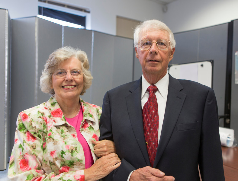 Mrs. and Mr. James Burton
