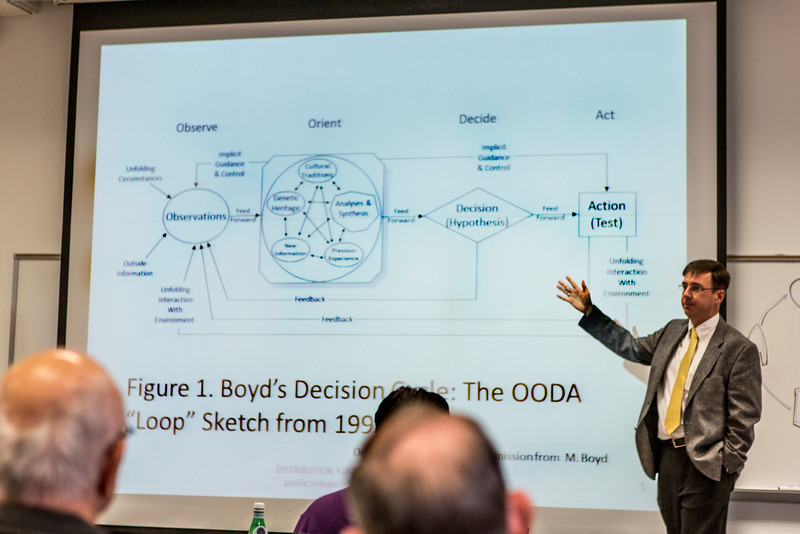 """Jim Roche presents """"Boyd, Neuroscience, and the Decision Cycle"""""""