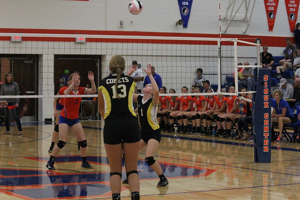 Boyden-Hull and Western Christian at Sioux County Tournament