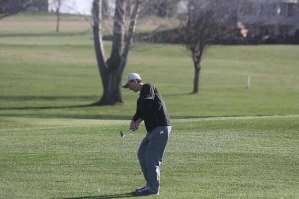 Boyden-Hull boys' golf at Larchwood 4-11-17