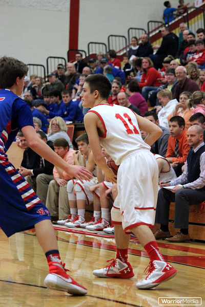 JV Boys Basketball vs. West Noble