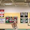 Oakmont Regional High School boys basketball played Leominster High School on Wednesday night, Feb. 5, 2020 in Ashburnham. ORHS's #3 Brandan Hulecki. SENTINEL & ENTERPRISE/JOHN LOVE