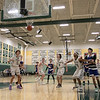 Oakmont Regional High School boys basketball played Leominster High School on Wednesday night, Feb. 5, 2020 in Ashburnham. Shooting a free throw is LHS's #4 Jeramiah Paulino. SENTINEL & ENTERPRISE/JOHN LOVE