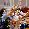 Jamesville-DeWitt vs West Genesee  - Boys Basketball - Nov 19, 2018