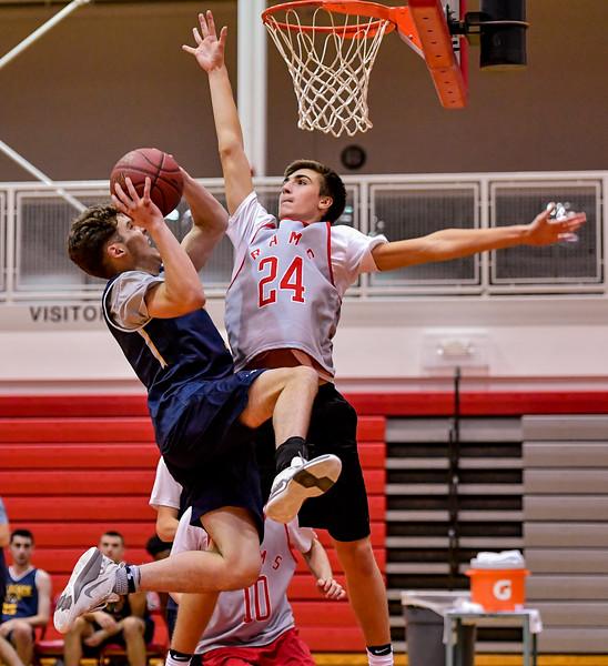 Jamesville-DeWitt vs West Genesee  - Boys Basketball - Nov 19, 2018