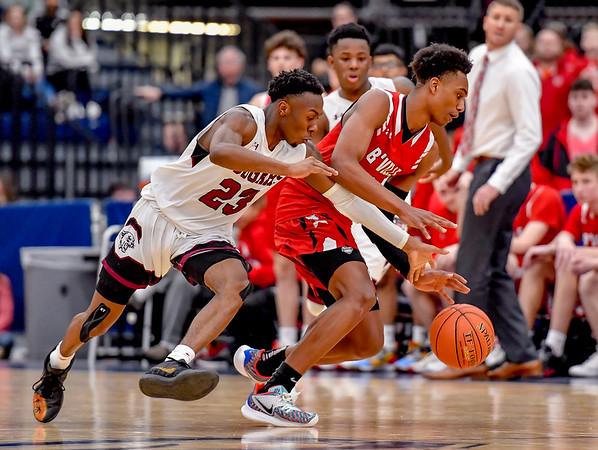 Baldwinsville vs Corcoran - Section III - Class AA Final - Boys Basketball - Mar 7, 2020