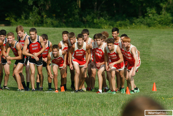 Boys XC vs. Lakeland, C. Noble, and P. Heights