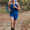 Leominster High School senior Jocelyn Mendes competed in the Leominster High School girls cross country meet against Fitchburg on Thursday afternoon at Barrett Park. SENTINEL & ENTERPRISE/JOHN LOVE