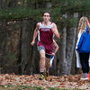 Fitchburg High School junior Travis Morcaldi came in second at the Leominster High School boys cross country meet against Fitchburg on Thursday afternoon at Barrett Park. SENTINEL & ENTERPRISE/JOHN LOVE