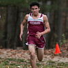 Fitchburg High School senior Anthony Ortwein came in first at the Leominster High School boys cross country meet against Fitchburg on Thursday afternoon at Barrett Park. SENTINEL & ENTERPRISE/JOHN LOVE