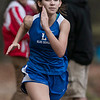 Leominster High School freshman Melanie Borges competed in the Leominster High School girls cross country meet against Fitchburg on Thursday afternoon at Barrett Park. SENTINEL & ENTERPRISE/JOHN LOVE