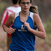 Leominster High School junior Ally Gagne competed in the Leominster High School girls cross country meet against Fitchburg on Thursday afternoon at Barrett Park. SENTINEL & ENTERPRISE/JOHN LOVE