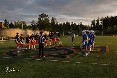 Boys Lacrosse v. Bainbridge at EC