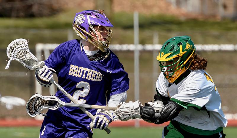 Christian Brothers Academy vs LaFayette - Boys Lacrosse - Apr 8, 2017