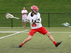 CVU sophomore Griffen Diparlo fires a shot on goal during the Redhawks ferousious 4th quarter comeback.