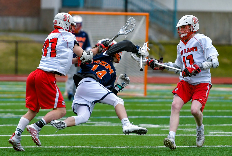 Jamesville-DeWitt vs East Syracuse-Minoa - Boys Lacrosse- Apr 14, 2018