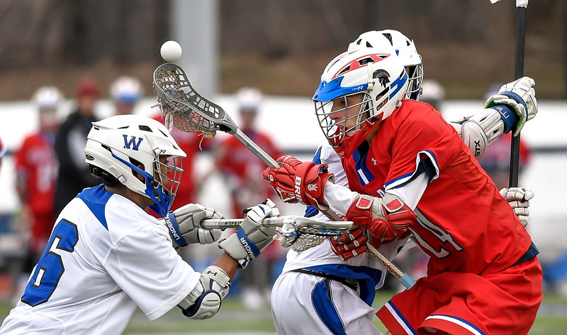 New Hartford at Westhill - Boys Lacrosse- Mar 28, 2018