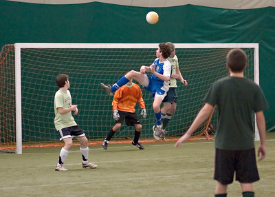 Goal mouth header12062006