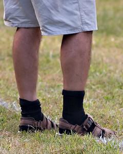 Black socks with sandals man09062007