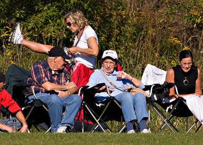 OK- Here's a new FF game- Leave a comment to tell everyone what you think Mrs. Wingert is doing here.  I'll get you started-  I think she is reliving her glory days as a cheerleader, obviously excited after the events of the game.