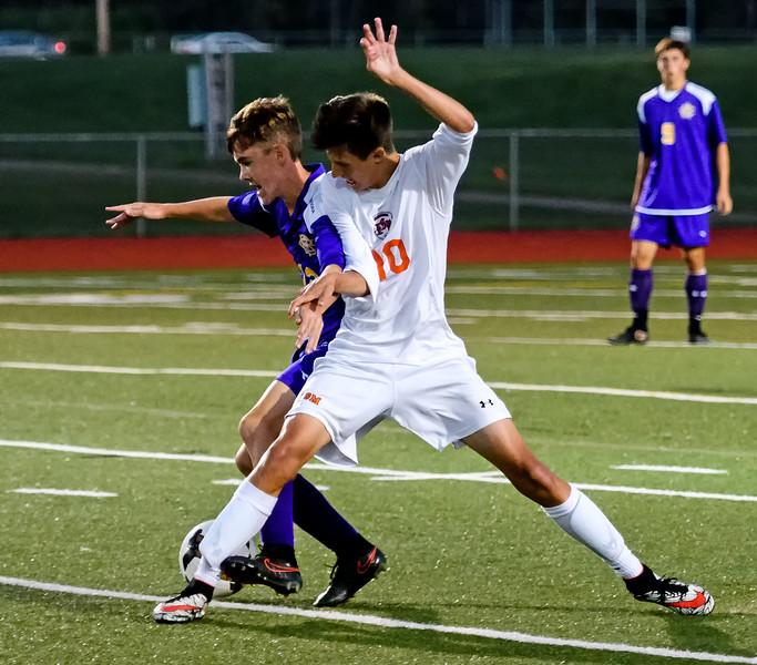 CBA at ESM  Boys Soccer -  Sept 19, 2016