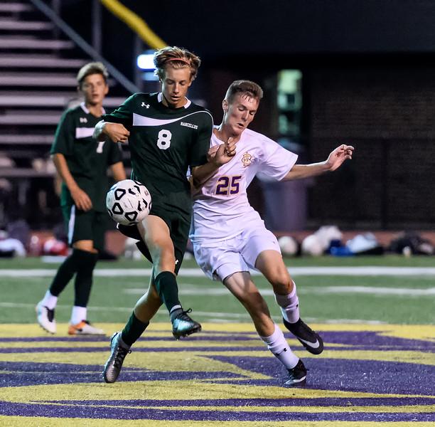 CBA 2 Marcellus 1 -  Boys Soccer -  Sept 6, 2016