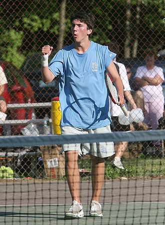 Boys Tennis- South Burlington at Burlington Semifinals 2008