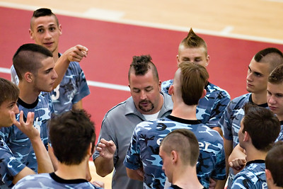 Don't point at your coach's hair-  Yours is just as silly!