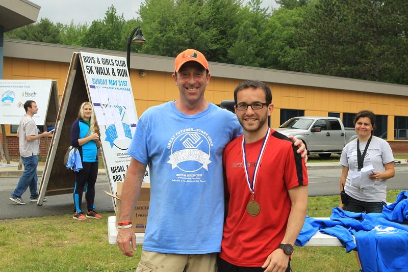 Tim Norton organizer with Josh Demming
