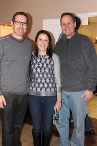 Scott Duhamel, Drew and Nancy Collom