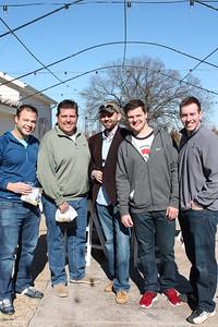 Daniel Espinosa, Randy Gomez, Lance Howell, Josh Huffman, Matt McGurgan
