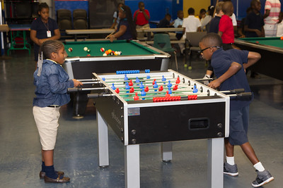 Commissioner Dale VC Holness visit Reitman Boys and Girls Club of Broward County