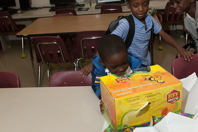 Adopt-A-Family Gift Giving at the Marti Huizenga Boys and Girls Club