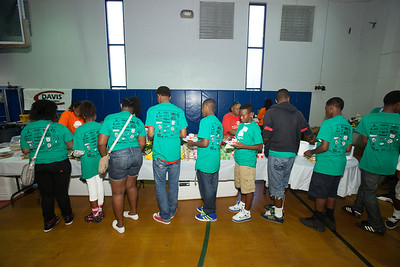 2013 Generals Construction Career Day at the Thomas D. Stephanis Boys and Girls Club