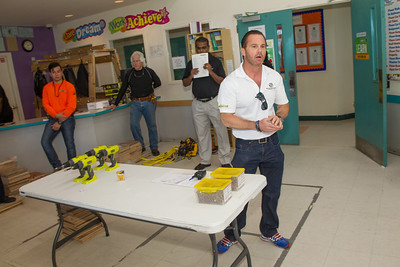 2015 Generals Construction Career Day at Levine/Slaughter Boys and Girls Club of Broward County