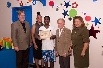 BGCBC & ABCI Craft Trainee Summer Program Graduation at the Thomas D. Stephanis Boys and Girls Club