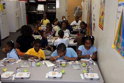 Hot Meals Program at the Nan Knox Boys and Girls Club