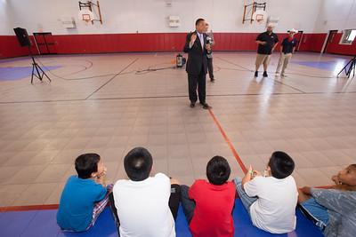 State Representative Joe Gibbons Check Presentation at the Marti Huizenga Boys and Girls Club of Broward County
