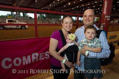 Cattlemen at the Bergeron Rodeo Grounds