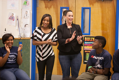 Dale Carnegie Training at Lester White NFL/Yet Boys and Girls Club