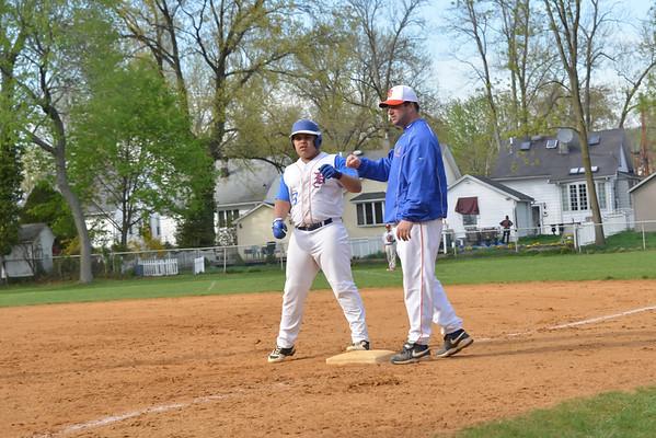 2013-04-30 Dayton Boys Varsity Baseball vs Roselle Park #6 of 7