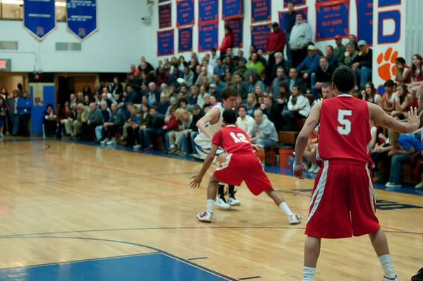 2011-03-03 Dayton Boys Varsity Basketball vs Hoboken #6 of 8