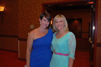 Meg Meredith and Cara Huff