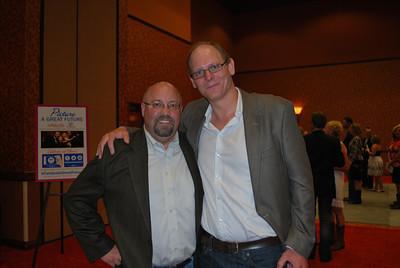 Tim Huber and George Hamilton