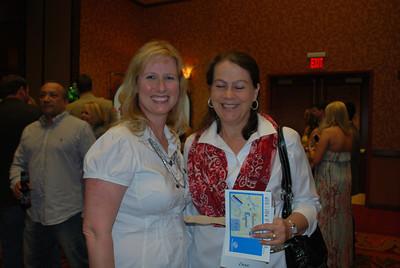 Deborah Jackson and Jill March